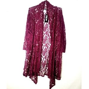 NWT - LACE COVER-UP -PLUS SIZE
